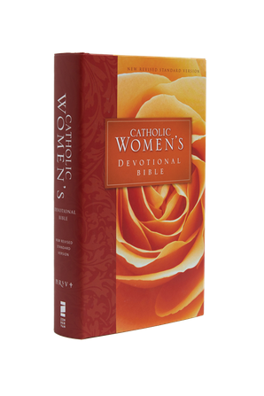 NRSV: Catholic Edition, Red Rose Catholic Women's Devotional Bible